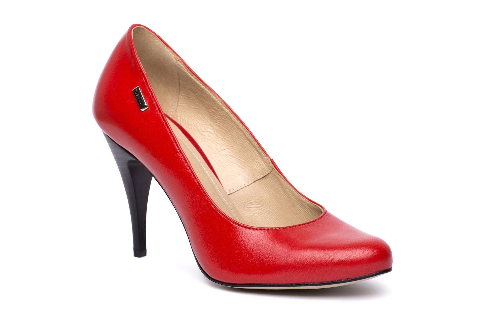a53f50943f GALLERY SHOES - Lodičky - Lodičky červené matné KATI